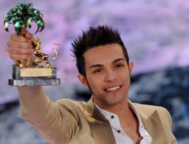 Sanremo - Marco Carta, vincitore della 59ma edizione