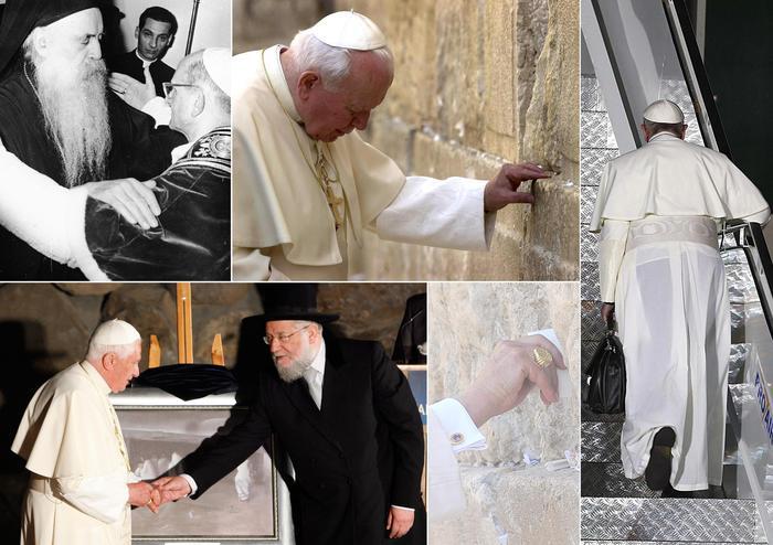 Papa: in Terrasanta per testimoniare unità e pace