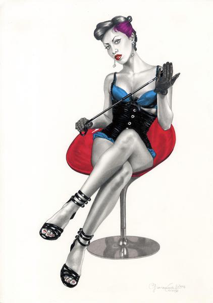 L'erotismo a fumetti sbarca a Milano con le pin-up sexy