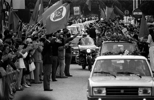 Le ultime foto di Berlinguer prima della sua morte