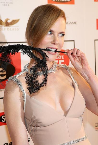 L'attrice australiana Kidman a Melburne per il Gala di beneficenza