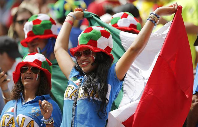 Italia-Costarica, vince la bellezza