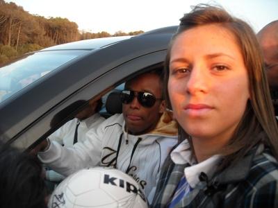 Fabiano Santacroce  con Rebecca - Castelvolturno - CE -