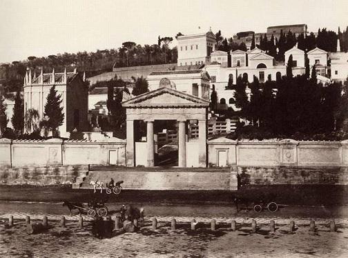 Napoli - Cimitero Monumentale (Poggioreale), 1865