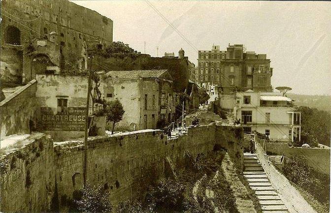 Napoli - Come era il belvedere di San Martino, fine '800