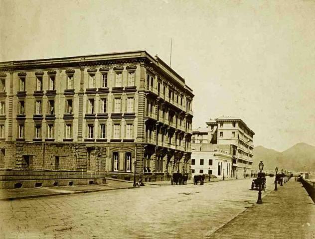 Napoli - Hotel Vesuvio, 1890