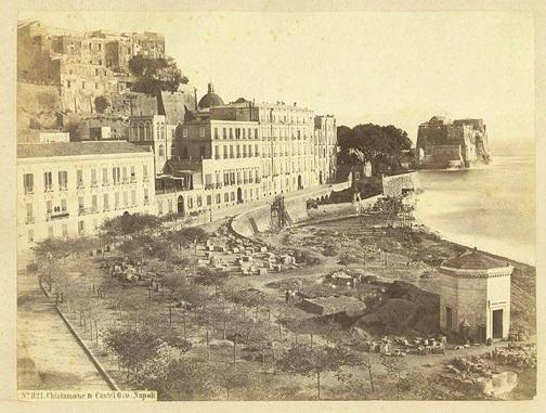 Napoli - Il Chiatamone, 1875