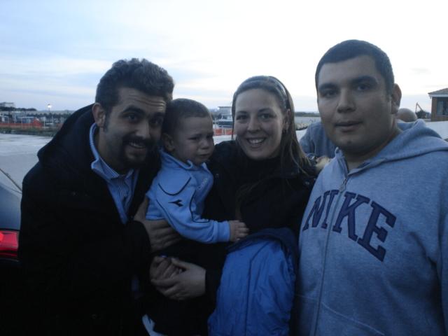 De Laurentis con Diego, Priscilla, Vincenzo - Castelvolturno CE -