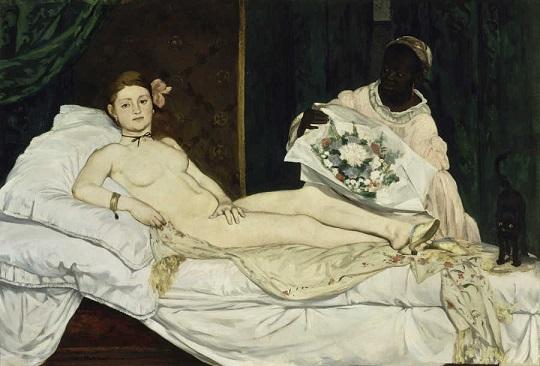 Olympia, Edouard Manet (1863)