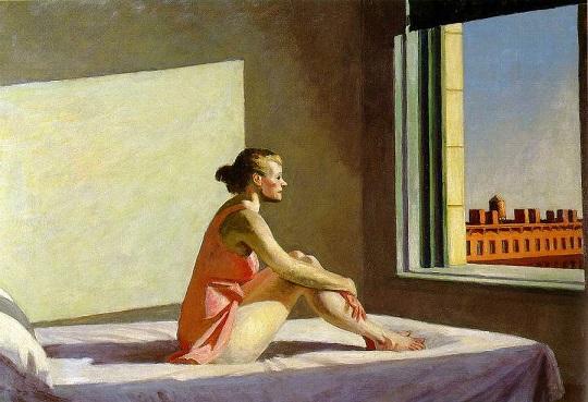Sole mattutino, di Edward Hopper