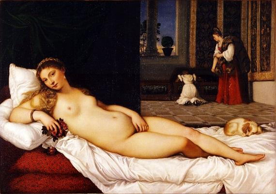 Venere di Urbino, di Tiziano (1538)