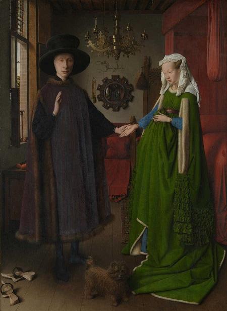 Ritratto dei Coniugi Arnolfini, di Jan Van Eyck (1434)