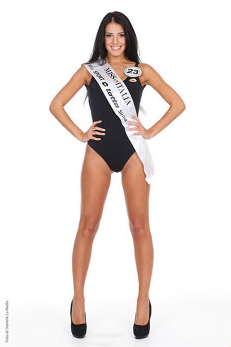 Le 24 ragazze finaliste di Miss Italia 2014