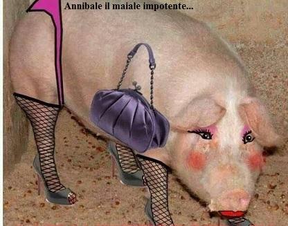 Annibale il maiale impotente...