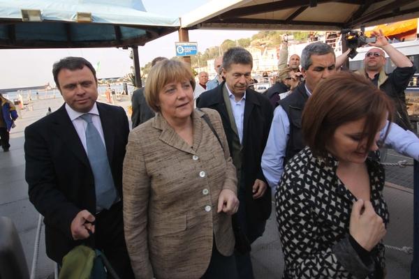 Angela Merkel torna a Ischia per vacanze di Pasqua