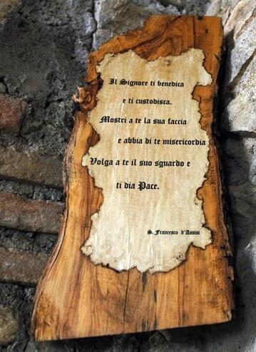 CONVENTO CLAUSURA CLARISSE FARA SABINA SUOR MARIA CHIARA