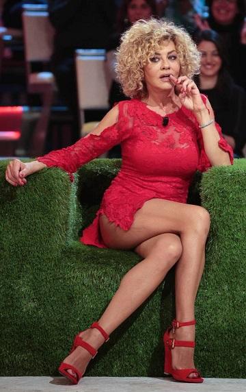 Eva Grimaldi hot a «Quelli che il calcio»