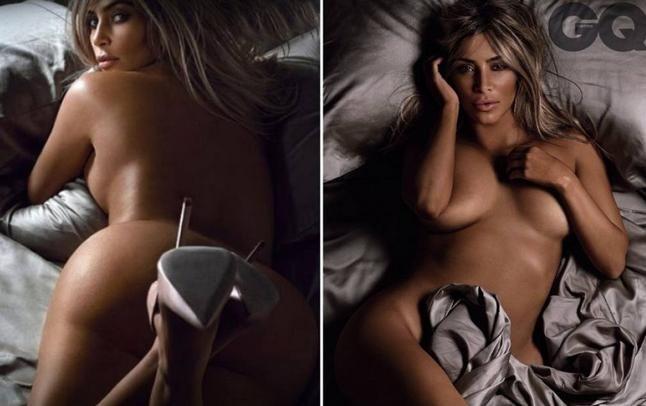 Kim Kardashian, il fondoschiena è da copertina