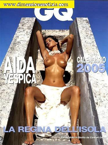 Calendario di Aida Yespica -
