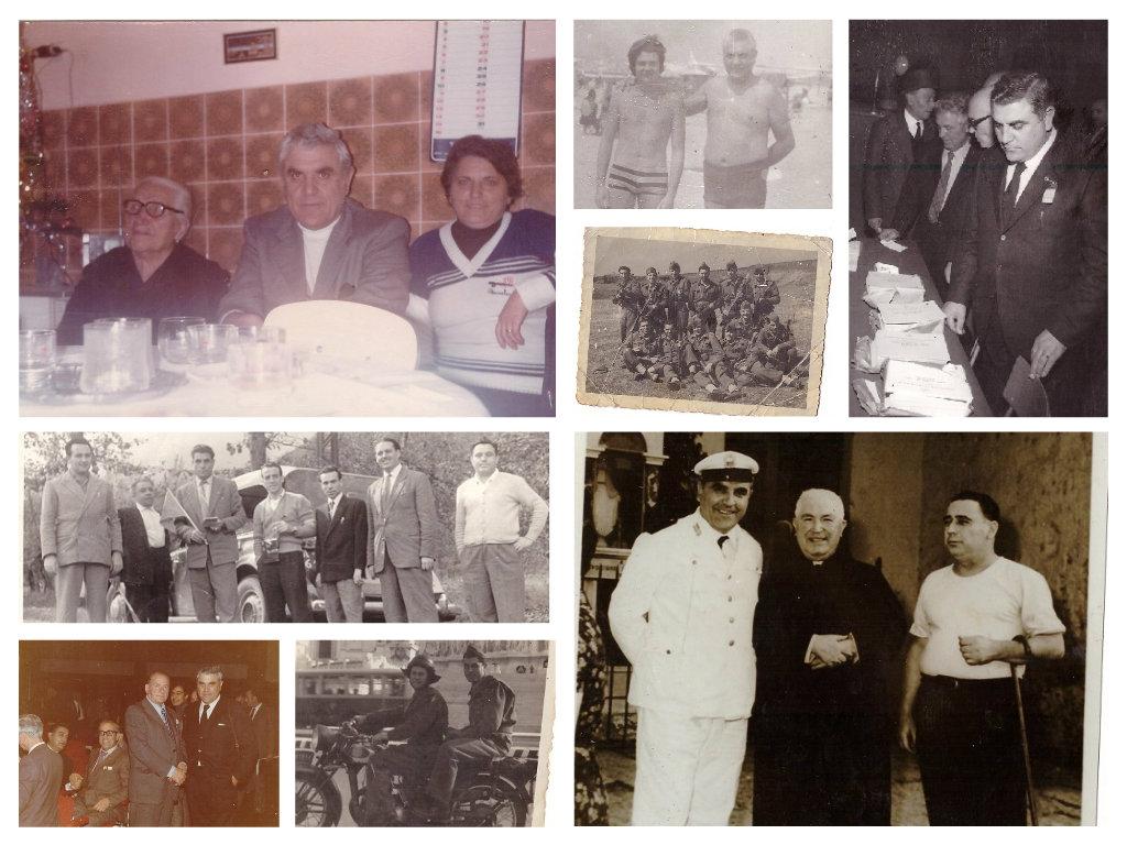 Il mio papà Vincenzo con amici