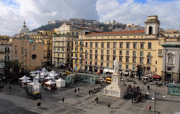 Le bellezze di Napoli e le province della Campania - Piazza Dante