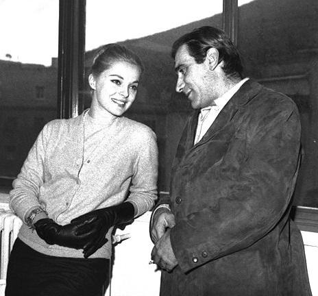 Virna Lisi e Alberto Lupo 1970