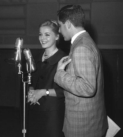 """Virna Lisi """"Settebello"""" con Corrado 1959"""