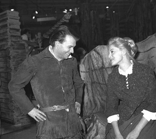 Virna Lisi con Giorgio Albertazzi
