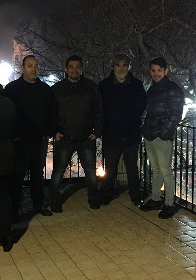 I 4 dell'apocalisse: Riccardo, Vincenzo, Giuseppe, Nico